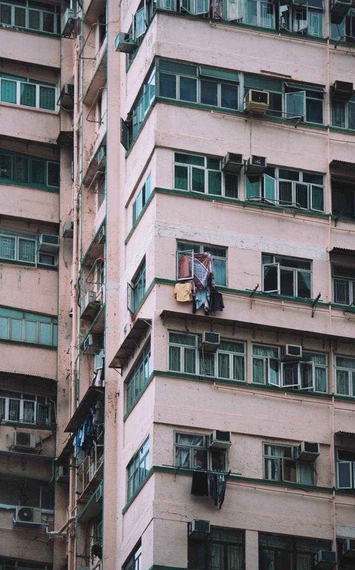 Hong Kong & ses jolies façadesroses