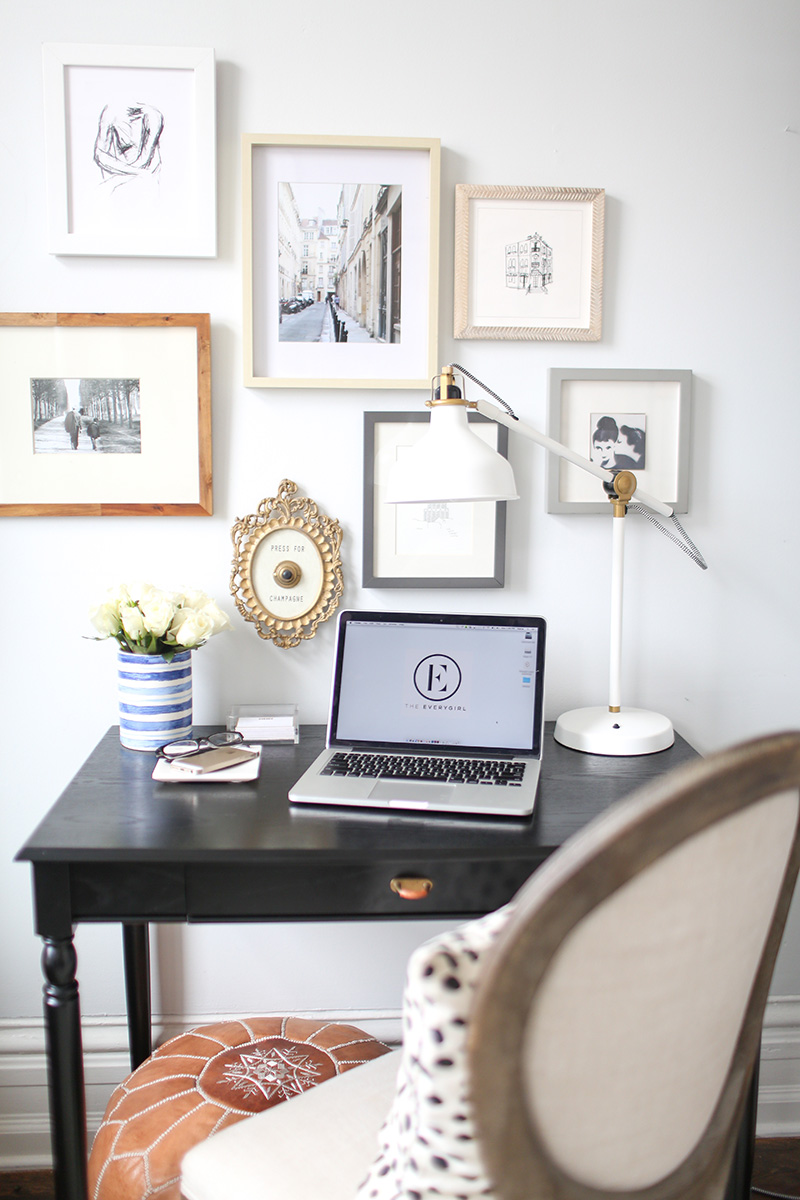 the everygirl homegoods home office organization 10