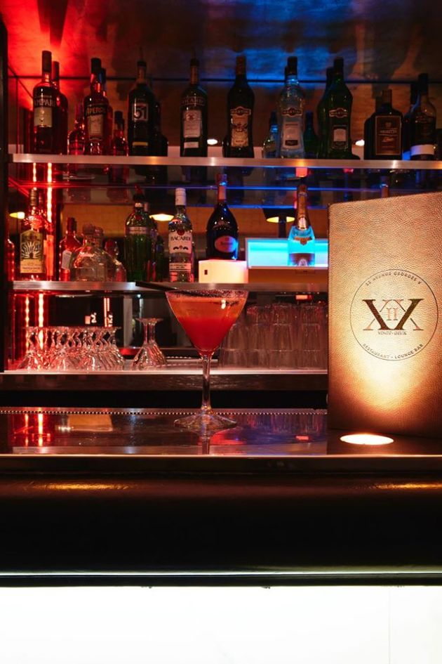 cocktail le 22 paris