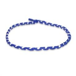 Headband Bleu & Blanc