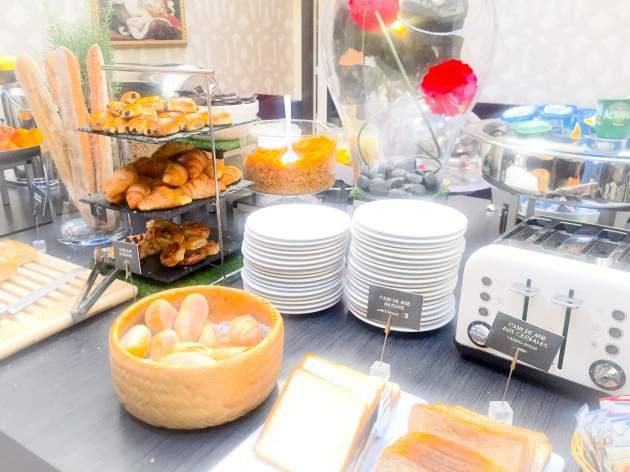 Petit déjeuner Etoile Saint Honoré